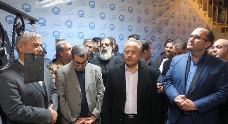 """آیین افتتاح نمایش """"تیغه کهنه"""" برگزار شد"""
