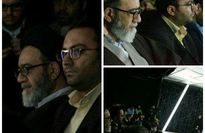 نخستین حضور یک امام جمعه در سالن تئاتر
