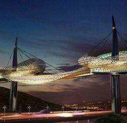 """""""پل باغ ائل گلی"""" سوژه مسابقه بینالمللی طراحی معماری شد"""