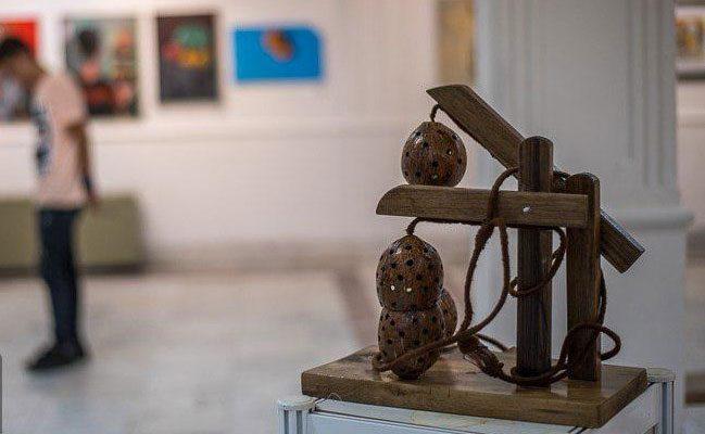 نمایشگاه آثار هنرجویان هنرستان هنرهای میرک در نگارخانه استاد میرعلی تبریزی