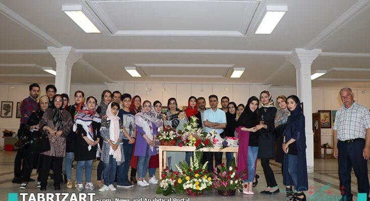 گزارش تصویری نمایشگاه طراحی و نقاشی آثار هنرجویان آموزشگاه افق