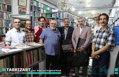 همنشينی جمعی از عكاسان تبريزی با استاد فخرالدین فخرالدینی