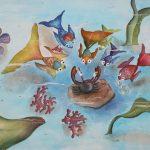 خرچنگ و ماهی ها