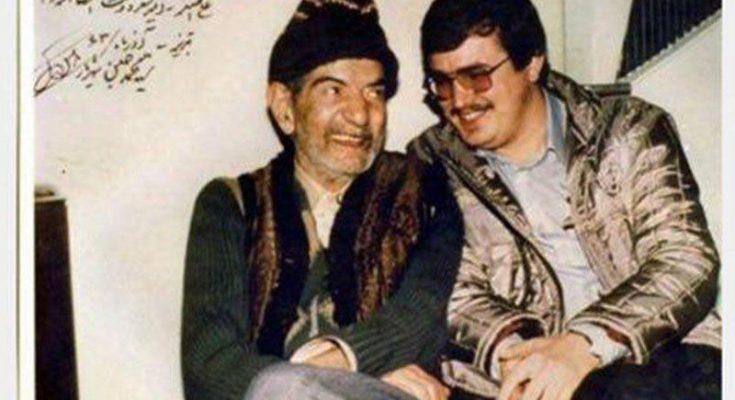 علی اصغر شعردوست و استاد شهریار