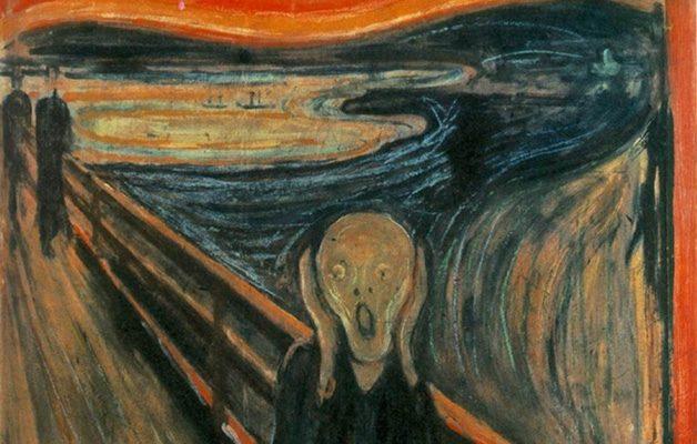 جیغ اثر ادوارد مونک (۱۸۹۳)، اکسپرسیونیسم قرن بیستم