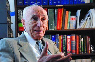 احسان یارشاطر مدیر تدوین ایرانیکا و بنیانگذار مرکز ایرانشناسی