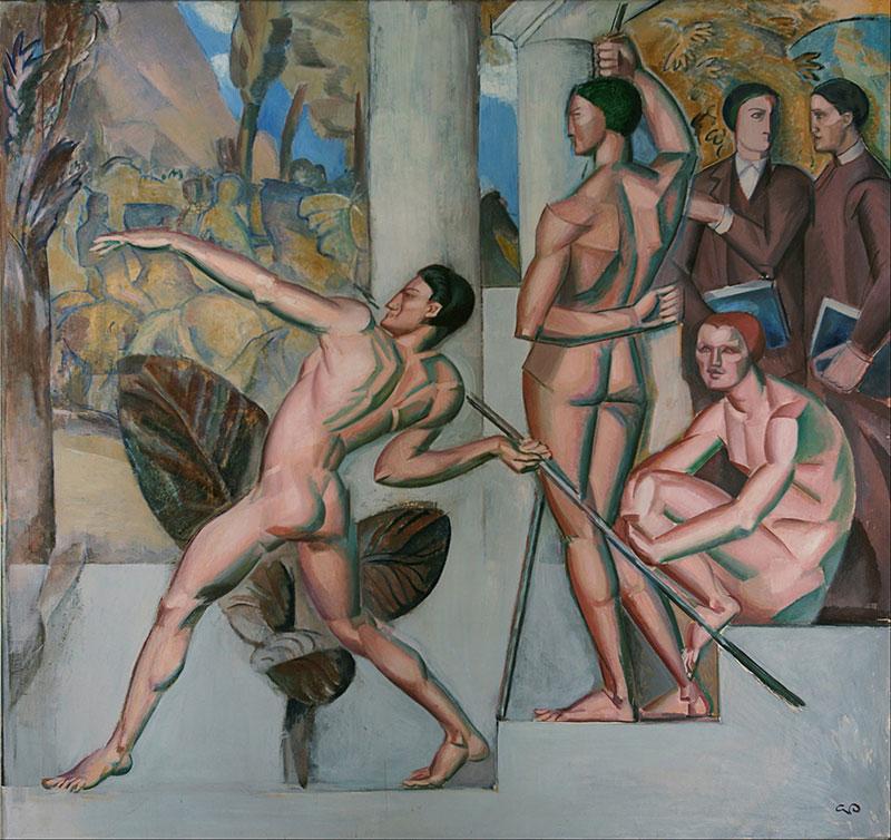 عقل سالم در بدن سالم است، نام اثری است در سبک کوبیسم از گئورگ پائولی، نقاش سوئدی به سال ۱۹۱۲ میلادی. این اثر اکنون در مالکیت موزه هنر مالمو قرار دارد.