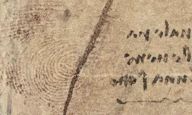 رونمایی از اثر انگشت «داوینچی» در پانصدمین سال درگذشت هنرمند