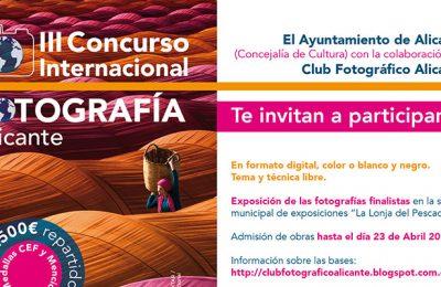 فراخوان رقابت عکاسی Alicante