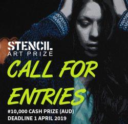 فراخوان جایزه هنر Stencil