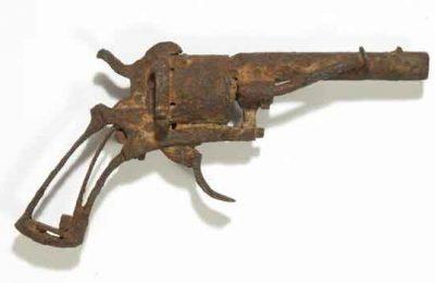 حراج اسلحهای که ونگوگ خود را با آن کشت