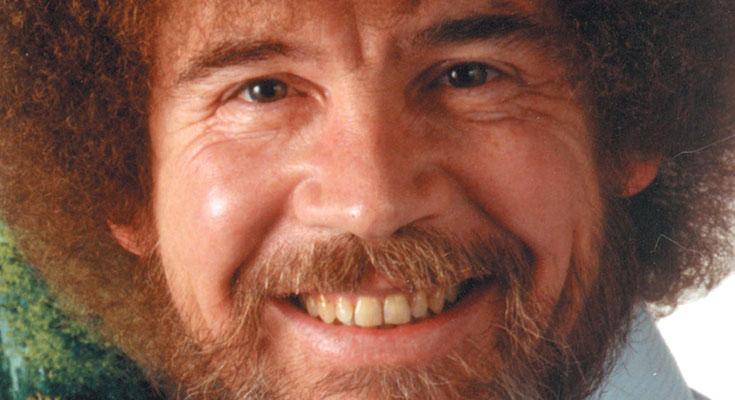 نقاشیهای «باب راس» برای اولین بار روی دیوار یک نمایشگاه میرود