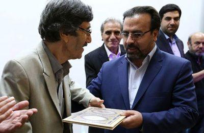 از مقام هنری جواد درخشان در تبریز تجلیل شد