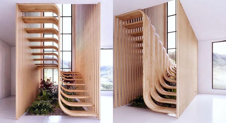نگاهی به چند طراحی خلاقانه پله در فضای داخلی
