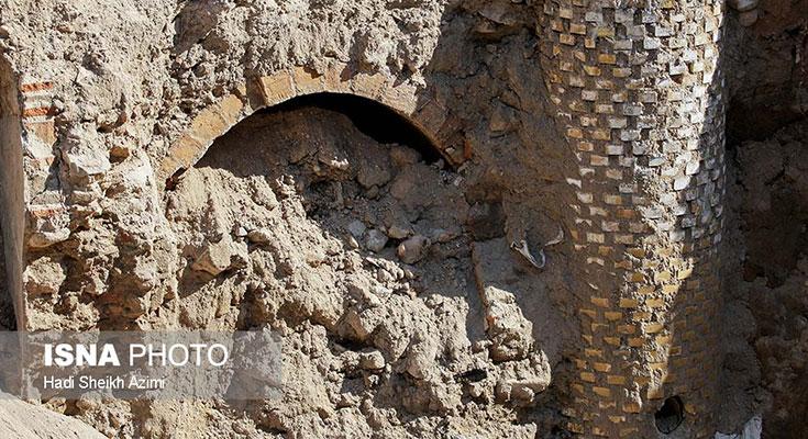 تبریز قدیم از دل والمان سر برآورد + تصاویر