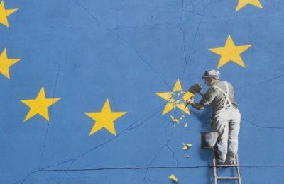 نقاشی دیواری برگزیت ناپدید شد