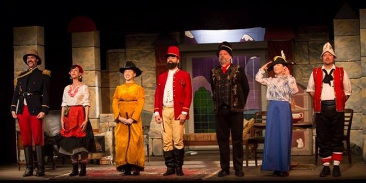 نمایشنامه « مرد و اسلحه » ( Arms and the Man ) اثر « جرج برنارد شاو »